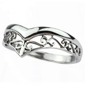 Inel argint Tiara