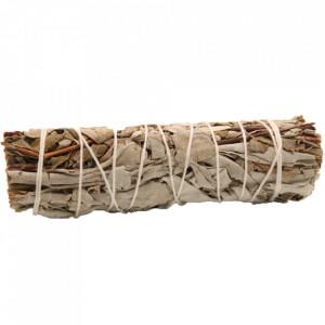 Manunchi de Salvie Alba si Salvie Regala pentru fumigatii 10cm
