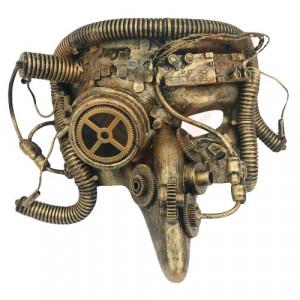 Masca steampunk Cyber Pest Doctor