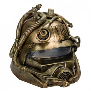 Masca Steampunk Vizorul Pompierului