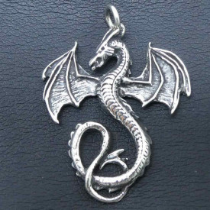 Pandantiv argint Dragon 4.5cm