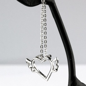 Pandantiv argint Inima cu aripi K2214