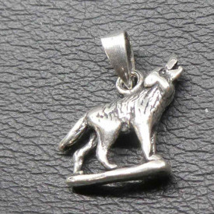 Pandantiv argint Lup urland 1.7cm