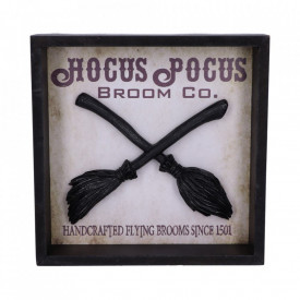 Placheta decorativa pentru perete Hocus Pocus 20 cm