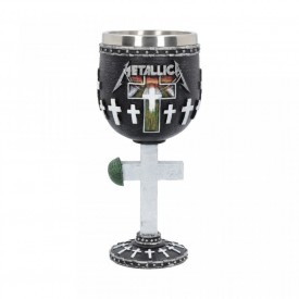 Pocal Metallica - Master of Puppets 18 cm