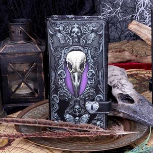 Portofel lung embosat Corbul lui Poe 19 cm