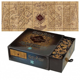 Puzzle 1000 piese Harry Potter - Harta Marauder