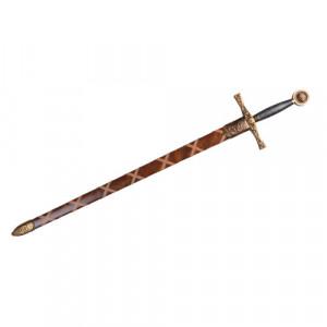 Sabie decorativa cu teaca Excalibur 111cm