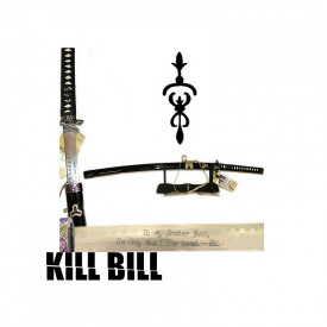 Sabie decorativa katana cu suport Kill Bill - Sabia lui Budd
