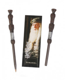 Set semn de carte si pix licenta Harry Potter - Albus Dumbledore