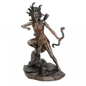 Statueta bronz Medusa 22cm