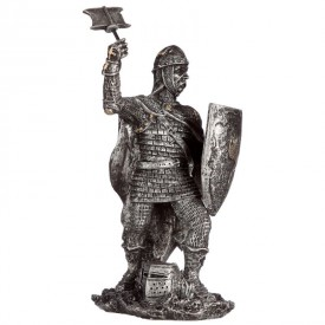 Statueta Cavaler Medieval Luptand