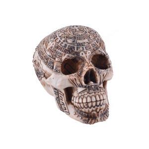 Statueta craniu Blestemul aztec 17cm