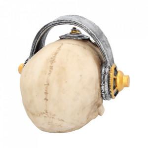 Statueta craniu steampunk Techno Talk 19 cm