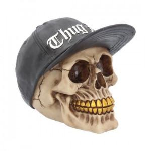 Statueta craniu Thug Life 16 cm