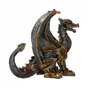 Statueta dragon steampunk Protectorul mecanic 20 cm