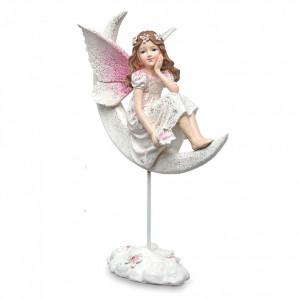 Statueta Dream Fairies - Zana pe luna 15.5cm