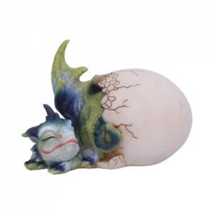 Statueta pui de dragon in ou Hatchling's Rest 12 cm