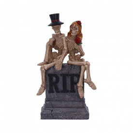Statueta schelete True Love Never Dies 17 cm