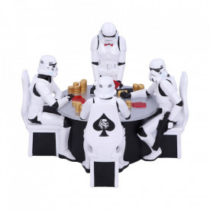 Statueta Star Wars Soldati Intergalactici - Poker Face 18.3cm