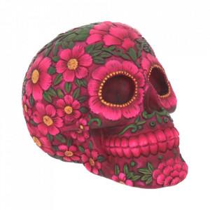 Statueta sugar skull Florile mortilor 14.5 cm
