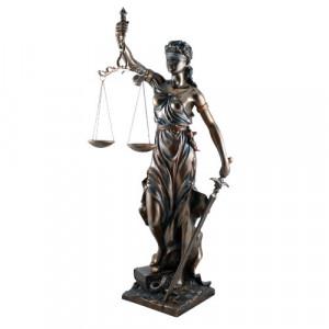 Statueta zeita dreptatii Themis ( Justitia) 75cm