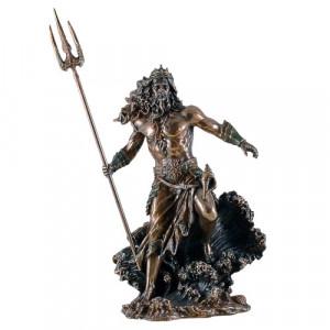 Statueta zeul marii Poseidon 31cm
