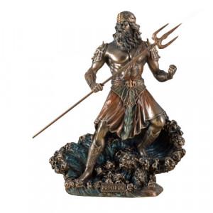 Statueta zeul Poseidon 20cm