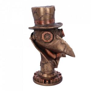 Steampunk Beaky Plague Doctor Bust Figurine