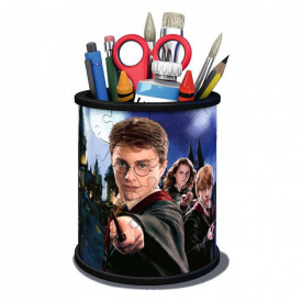 Suport pixuri din puzzle 3D 54 piese licenta Harry Potter