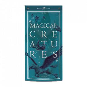 Tapiserie pentru perete licenta Harry Potter - Creaturi Magice
