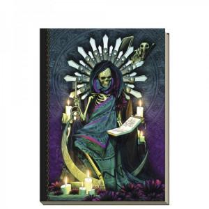 Agenda / Jurnal cartonat Santa Muerte 21 cm