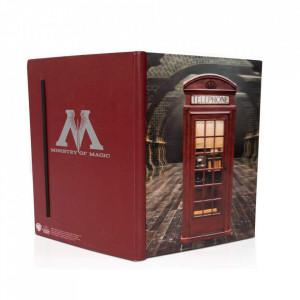 Agenda/Jurnal coperta 3D licenta Harry Potter - Ministerul Magiei
