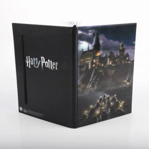 Agenda/Jurnal cu coperti 3D licenta Harry Potter - Castelul Hogwarts