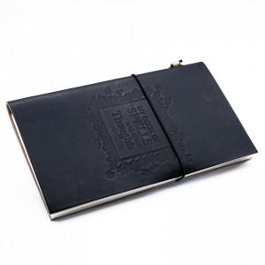 Agenda / Jurnal cu coperti din piele Cartea vrajilor(22x12 cm)
