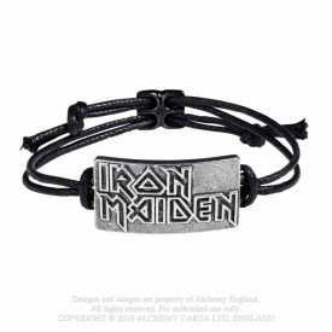 Bratara snur Iron Maiden Logo