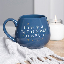 Cana ceramica I love you to the stars and back
