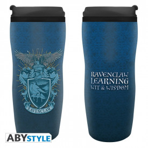 Cana termos cu capac pentru cafea licenta Harry Potter - Casa Ravenclaw