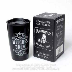Cana termos cu capac pentru cafea Witches Brew