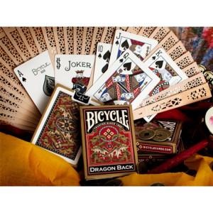 Carti de joc Bicycle Dragon Gold