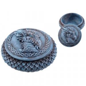 Cutie pentru bijuterii Dragonul de Gheata 11cm