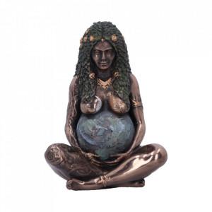 Figurina Mama Pamant finisaj bronz 8.5 cm