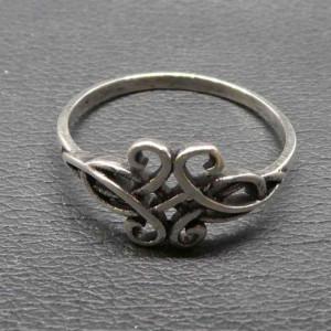 Inel argint model Celtic