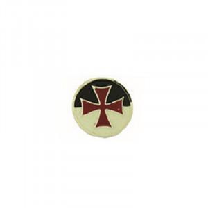 Insigna placata cu argint Crucea Templierilor