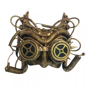 Masca steampunk Cyber owl