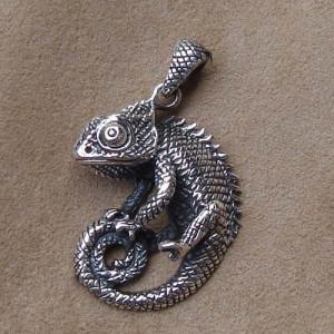 Pandantiv argint Cameleon