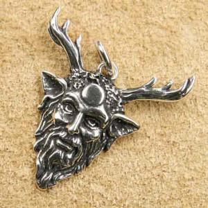 Pandantiv argint Cernunnos 3.2cm