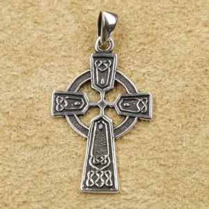 Pandantiv argint Cruce Celtica 3.8cm