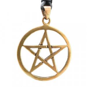 Pandantiv bronz Pentagrama mica