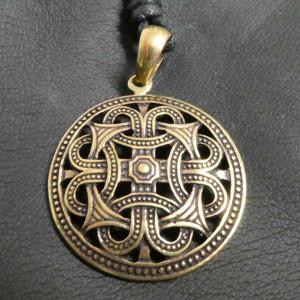 Pandantiv bronz Scut Celtic